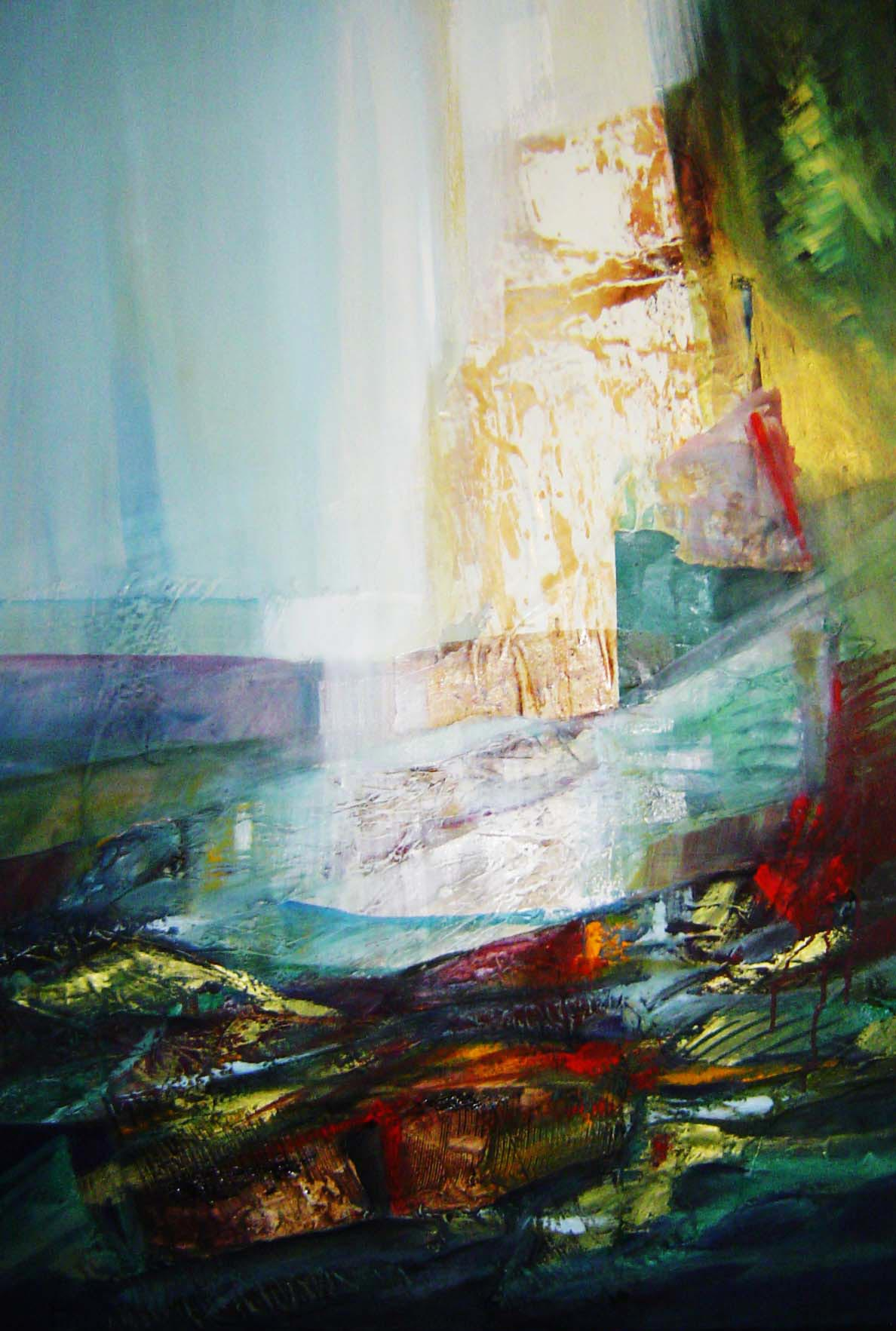 Le acque della memoria - Franco Margari - Pittura