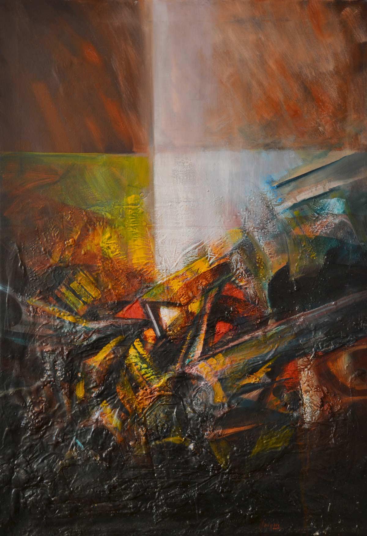 L'attesa del nuovo giorno - Franco Margari - Pittura