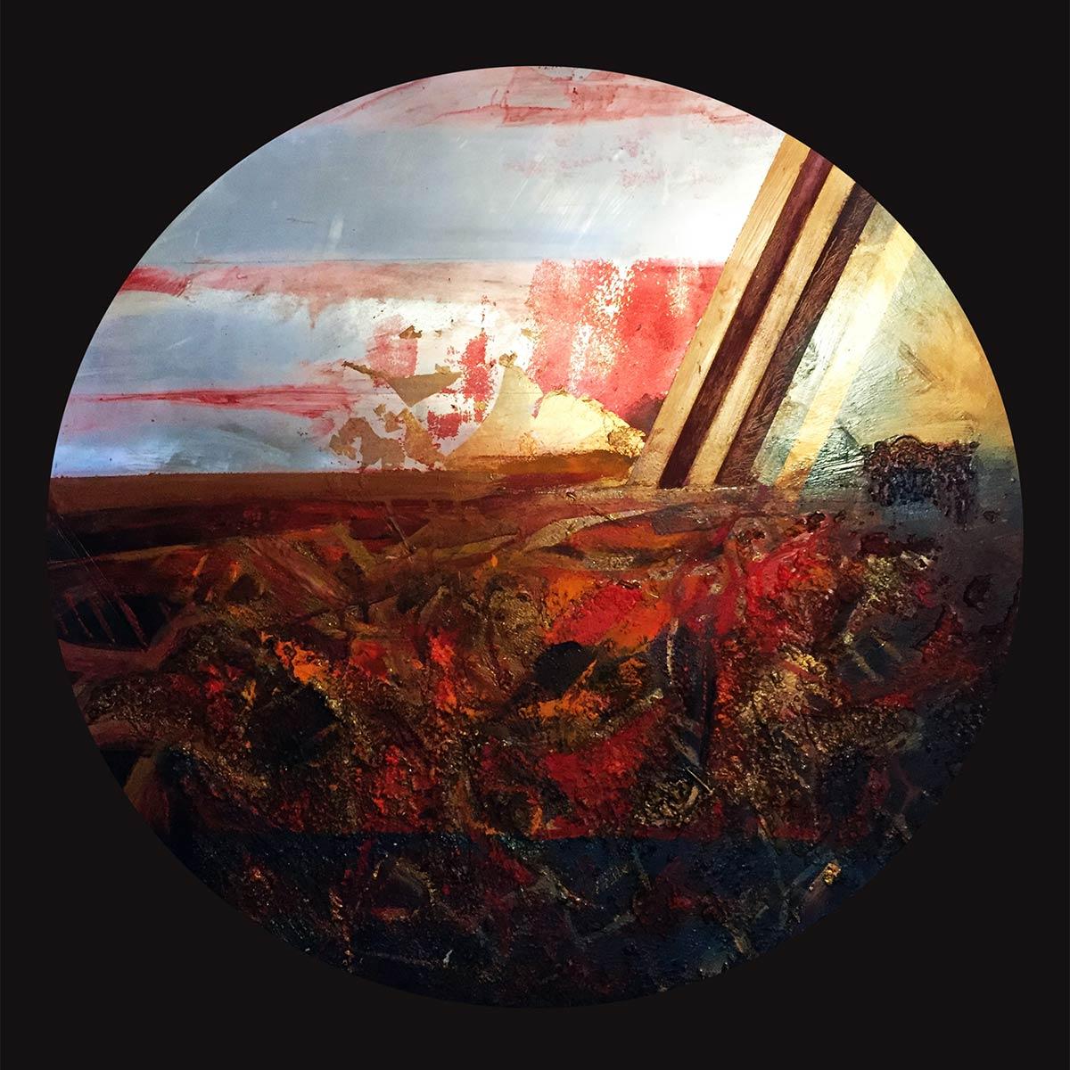 Il fuoco della lotta - Franco Margari - Pittura