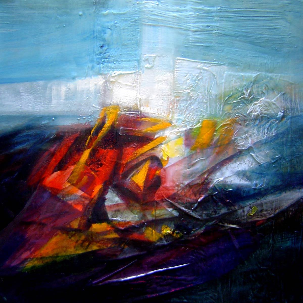 Orizzonte dell'oscurità del tempo - Franco Margari - Pittura