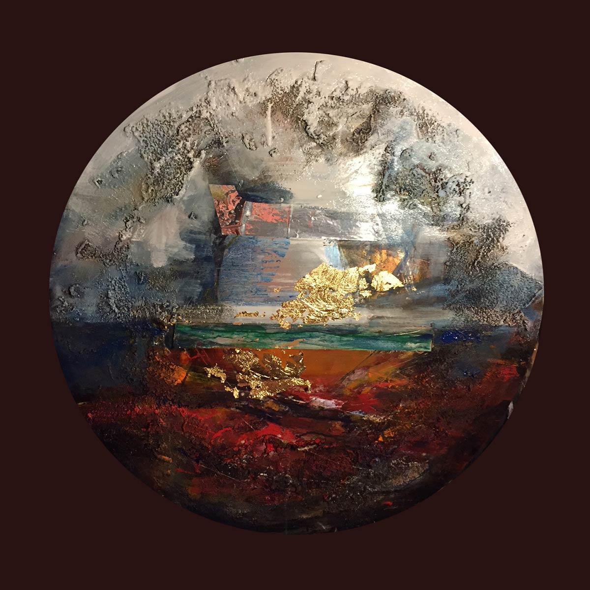 Il pianeta di utopia - Franco Margari - Pittura